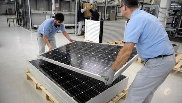Bosch parie sur les panneaux photovoltaïques pour son usine de Vénissieux